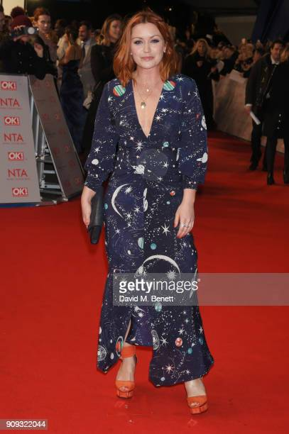 Arielle Free attends the National Television Awards 2018 at The O2 Arena on January 23 2018 in London England