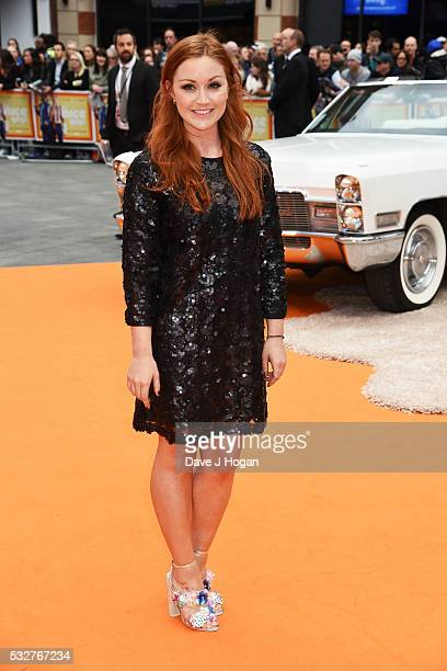 Arielle Free attends the 'The Nice Guys' UK Premiere at Odeon Leicester Square on May 19 2016 in London England