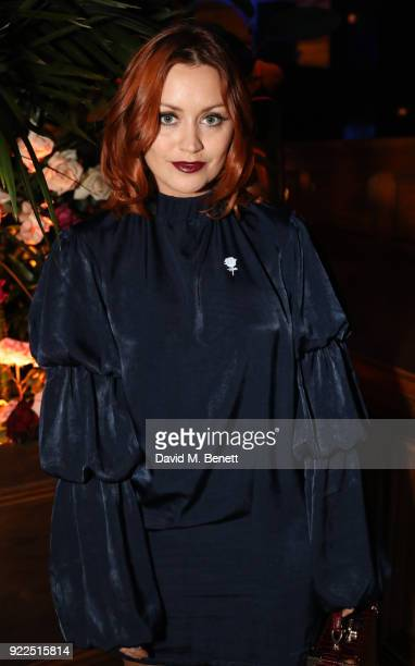 Arielle Free attends the Universal Music BRIT Awards AfterParty 2018 hosted by Soho House and Bacardi at The Ned on February 21 2018 in London England