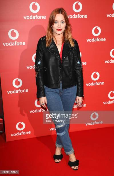 Arielle Free attends the Vodafone Passes Launch held at The Bankside Vaults on November 1 2017 in London England