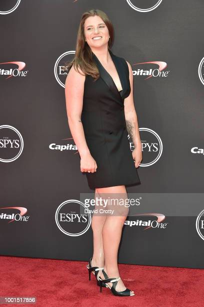 Arielle Gold attends The 2018 ESPYS at Microsoft Theater on July 18 2018 in Los Angeles California