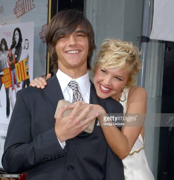 Arielle Kebbel and Brother Christian during John Tucker Must Die Los Angeles Premiere Arrivals at Mann's Chinese Theater in Hollywood California...