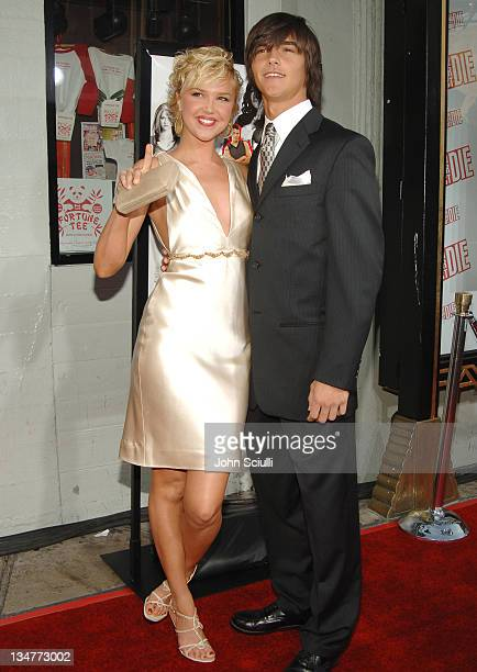 Arielle Kebbel and brother Christian during 'John Tucker Must Die' Los Angeles Premiere Arrivals at Mann's Chinese Theater in Hollywood California...