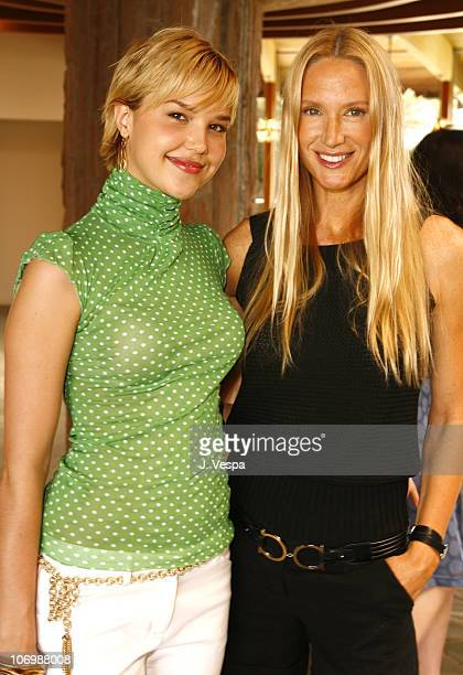 Arielle Kebbel and Kelly Lynch during Kelly Lynch and Lisa Love Host a Lunch in Honor of James Ferragamo at Private Home in Los Angeles California...