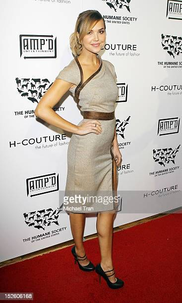 Arielle Kebbel arrives at HCouture 2012 The Future of Fashion held at The Mark on September 22 2012 in Los Angeles California