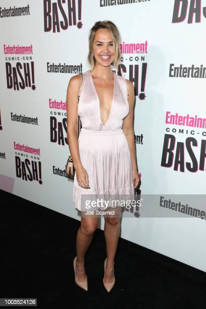 Arielle Kebbel attends Entertainment Weekly's ComicCon Bash held at FLOAT Hard Rock Hotel San Diego on July 21 2018 in San Diego California sponsored...