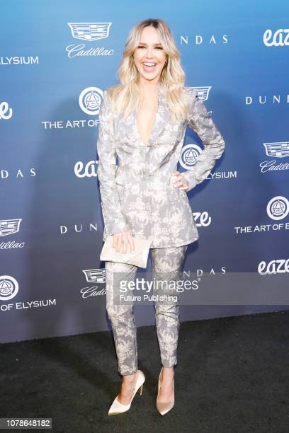 Arielle Kebbel attends 'Heaven' the 'The Art of Elysium´s 12th Annual Black Tie Artistic Experience' on January 5 2019 in Los Angeles California