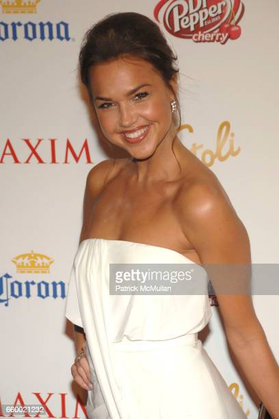 Arielle Kebbel attends Maxim's 10th Annual Hot 100 Celebration at The Barker Hangar on May 13 2009 in Santa Monica California