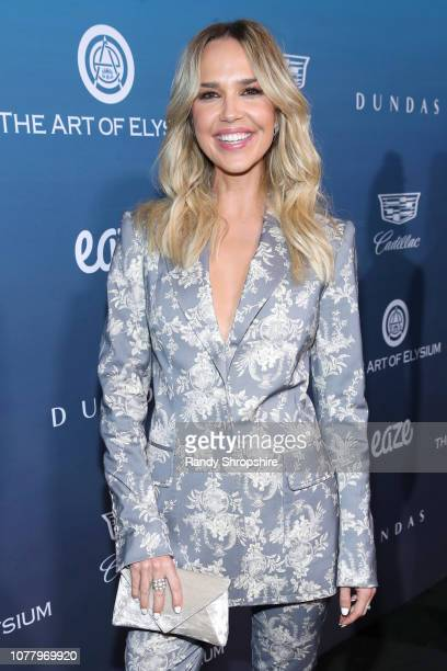 Arielle Kebbel attends Michael Muller's HEAVEN presented by The Art of Elysium on January 5 2019 in Los Angeles California