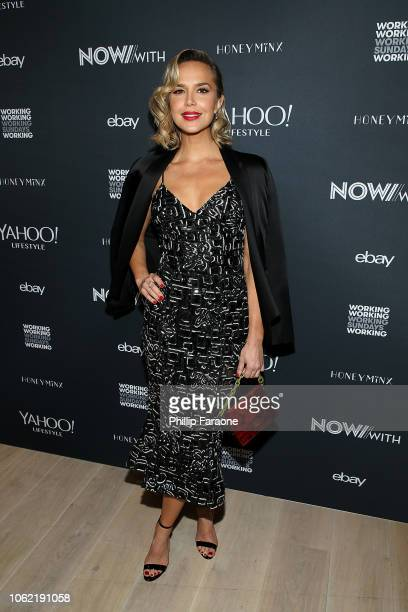 Arielle Kebbel attends NowWith presented by Yahoo Lifestyle in partnership with Working Sundays Series with Nicole Richie's Honey Minx Collection...