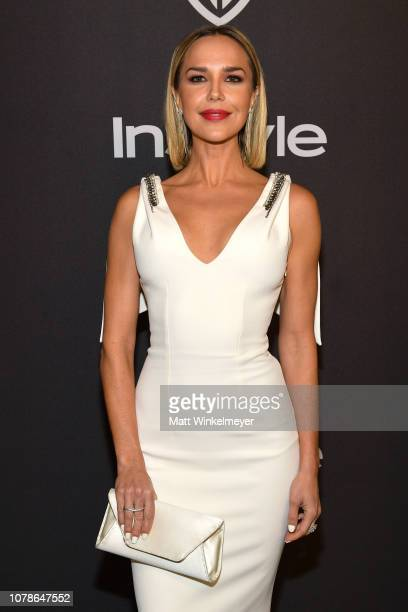 Arielle Kebbel attends the 2019 InStyle and Warner Bros 76th Annual Golden Globe Awards PostParty at The Beverly Hilton Hotel on January 6 2019 in...