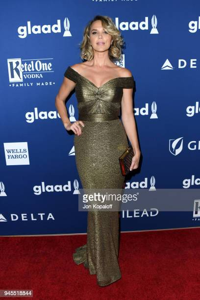 Arielle Kebbel attends the 29th Annual GLAAD Media Awards at The Beverly Hilton Hotel on April 12 2018 in Beverly Hills California