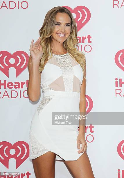 Arielle Kebbel attends the iHeart Radio Music Festival press room held at MGM Grand Resort and Casino on September 19 2014 in Las Vegas Nevada