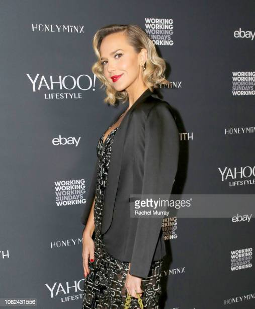 Arielle Kebbel attends the launch of NowWith presented by Yahoo Lifestyle and Working Sundays celebrating the series launch of Nicole Richie's Honey...