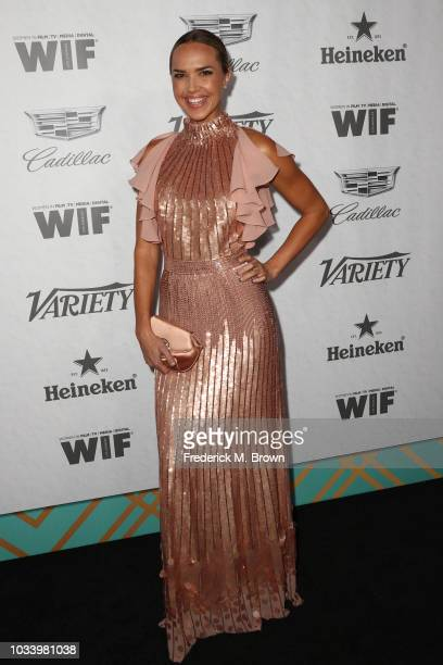 Arielle Kebbel attends Variety and Women in Film's 2018 PreEmmy Celebration at Cecconi's on September 15 2018 in West Hollywood California