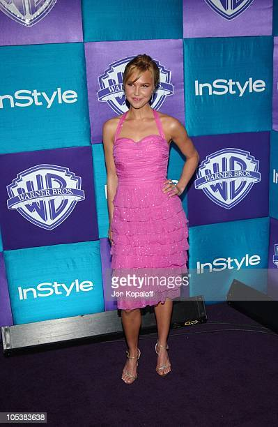 Arielle Kebbel during 2005 InStyle/Warner Bros Golden Globes Afterparty Arrivals at Beverly Hills Hilton in Beverly Hills California United States