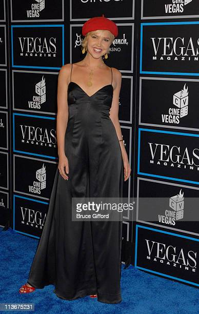 Arielle Kebbel during 2006 CineVegas Day 9 Vegas Magazine 3rd Anniversary Closing Night Party at Green Valley Ranch Resort in Las Vegas Nevada United...