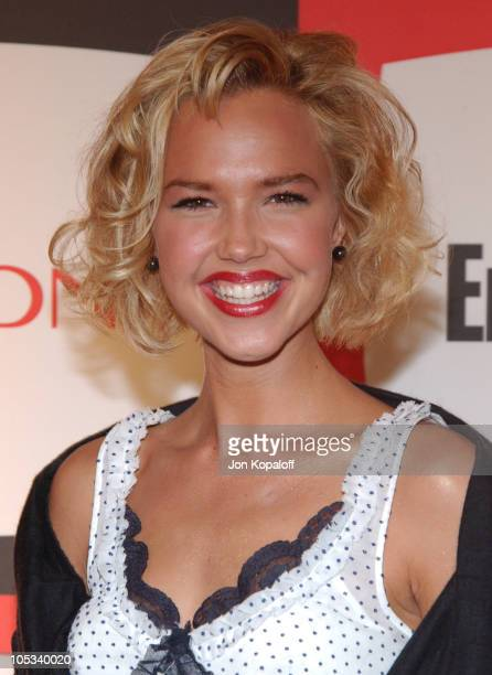 Arielle Kebbel during 2nd Annual Entertainment Weekly PreEmmy Party at The Hollywood Athletic Club in Hollywood California United States