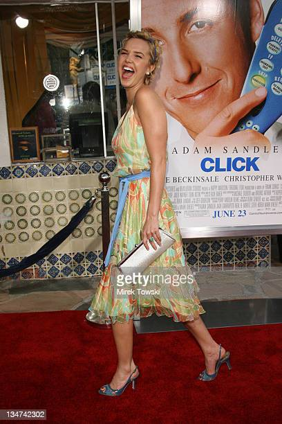 Arielle Kebbel during Click Los Angeles Premiere at Mann Village Theater in Westwood California United States