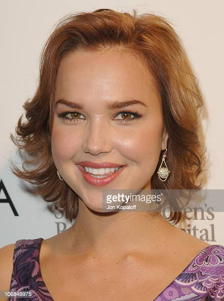 Arielle Kebbel during Escada's 2006 Spring/Summer Collection Launch to Benefit St Jude Children's Research Hospital at Meson G in Los Angeles...