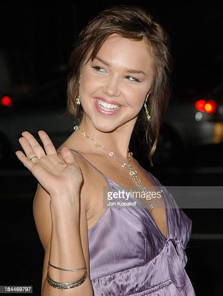 Arielle Kebbel during In Her Shoes Los Angeles Premiere Arrivals at Academy of Motion Pictures Arts and Sciences in Beverly Hills CA United States