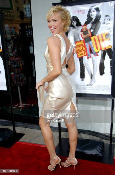 Arielle Kebbel during John Tucker Must Die Los Angeles Premiere Arrivals at Mann's Grauman Chinese Theater in Hollywood California United States