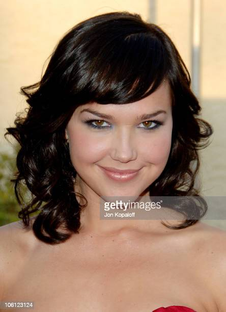 Arielle Kebbel during The Grudge 2 Los Angeles Premiere Arrivals at Knott's Berry Farm in Buena Park California United States