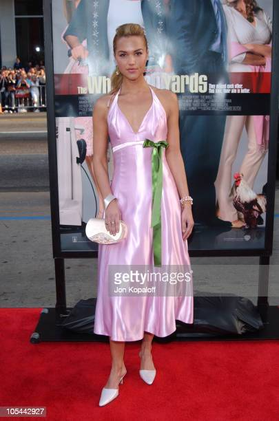 Arielle Kebbel during The Whole Ten Yards World Premiere at Grauman's Chinese Theatre in Hollywood CA United States