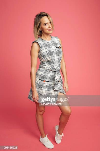 Arielle Kebbel from NBC's 'Midnight Texas' poses for a portrait at the Getty Images Portrait Studio powered by Pizza Hut at San Diego 2018 Comic Con...