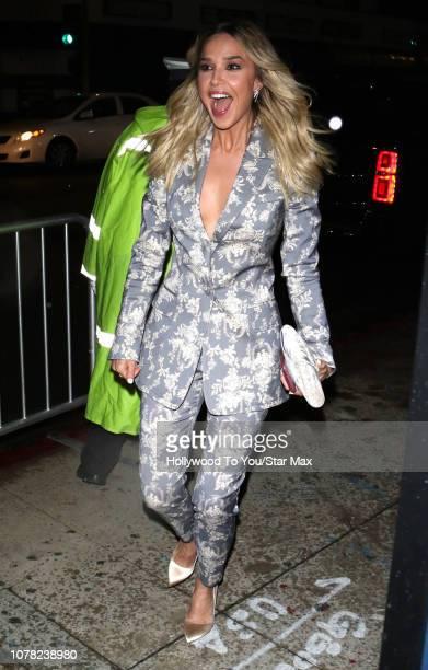 Arielle Kebbel is seen on January 5 2019 in Los Angeles CA