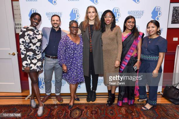 Arielle Knight Gil Seltzer DanaAin Davis Catherine Gund Maya Lewis Bedatri Choudhury and Yanett Ramirez attend The Maysles Documentary Center's Albie...