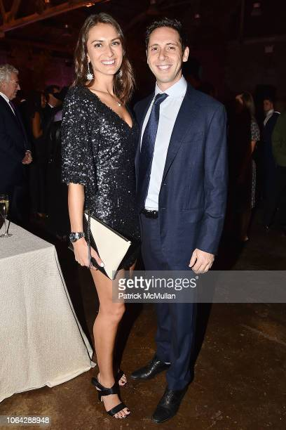 Arielle Kogut and David Greenberg attend 2018 Aperture Gala at Cedar Lake on October 30 2018 in New York City