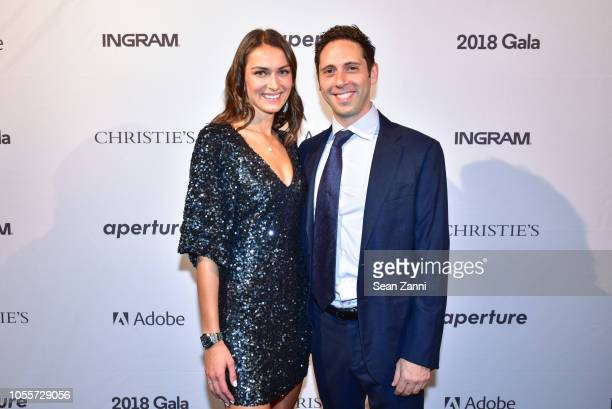 Arielle Kogut and David Greenberg attend the 2018 Aperture Gala at Cedar Lake on October 30 2018 in New York City