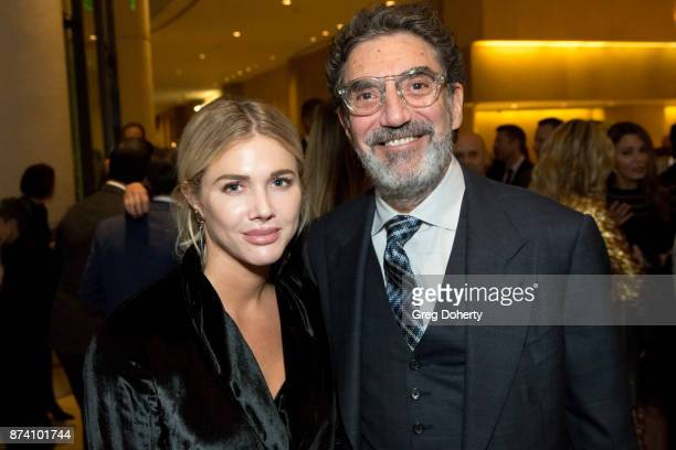 Arielle Mandelson and Producer / Writer Chuck Lorre attend the Saban Community Clinic's 50th Anniversary Dinner Gala at The Beverly Hilton Hotel on...