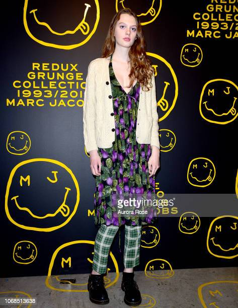 Arielle Nicholson attends Marc Jacobs Sofia Coppola Katie Grand Celebrate The Marc Jacobs Redux Grunge Collection And The Opening Of Marc Jacobs...