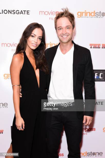 Arielle Panta and Guest attend Special Screening of THE ROW featuring Natali Yura at Sunset 5 on July 25 2018 in West Hollywood California