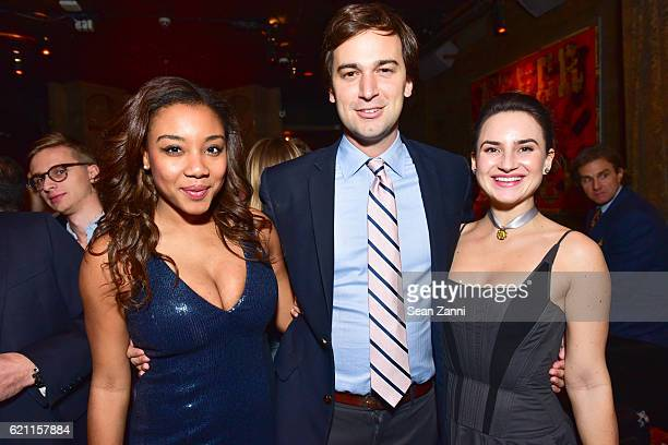 Arielle Patrick Cody Kittle and Alexandra Porter attend Yellowstone Park Foundation Young Patrons Benefit at Avenue on November 3 2016 in New York...