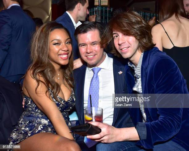 Arielle Patrick James Tang and Martin Ambrose attend Yellowstone Forever Young Patrons Benefit hosted by Arielle Patrick Jackie Rooney and Alice Ryan...