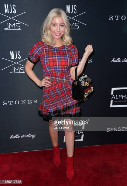 Arielle Ray attends Matt Sarafa and Jonathan Marc Stein's new 'Rich' clothing line release and fashion show on March 29 2019 in Los Angeles California