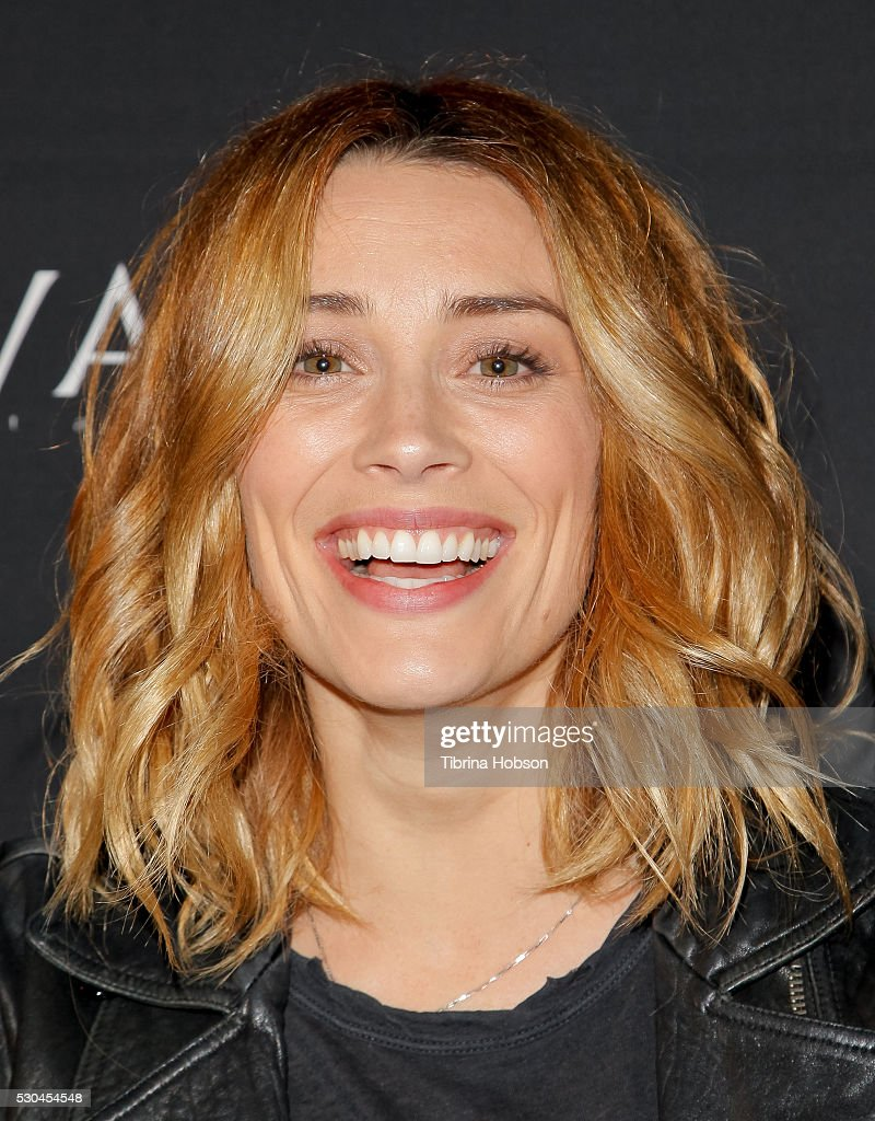 Arielle Vandenberg attends the launch of '6 Bullets To Hell' on May 10, 2016 in Los Angeles, California.