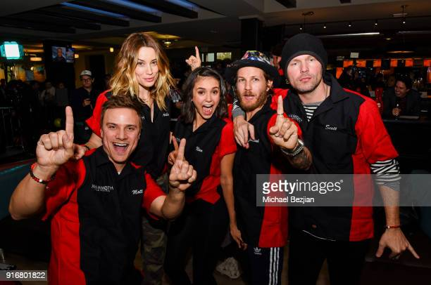 Arielle Vanderberg Matt Cutshall Jeremiah Samuel and Nina Dobrev attend at The Inaugural Mammoth Film Festival on February 10 2018 in Mammoth Lakes...
