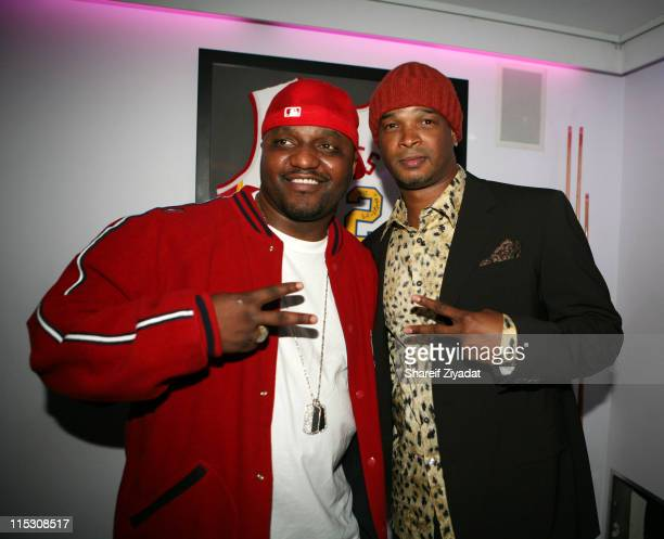 Aries Spears and Damon Wayans during The Underground New York Premiere Hosted by Damon Wayans and Showtime at 40/40 in New York City New York United...