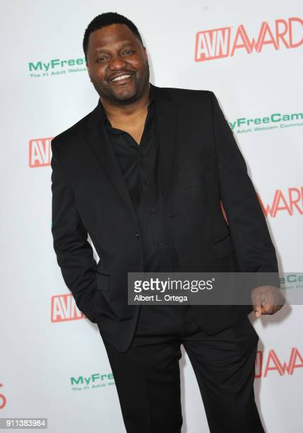 Aries Spears attends the 2018 Adult Video News Awards held at Hard Rock Hotel Casino on January 27 2018 in Las Vegas Nevada