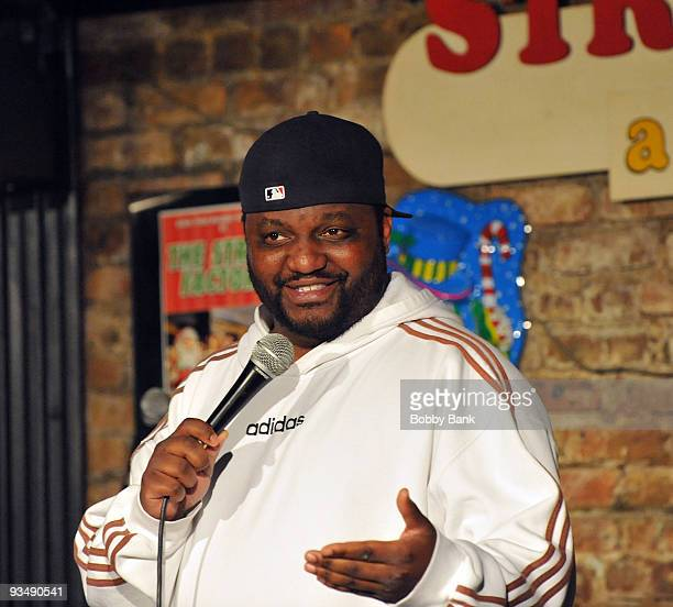 Aries Spears headlines at the Stress Factory Comedy Club on November 27 2009 in New Brunswick New Jersey
