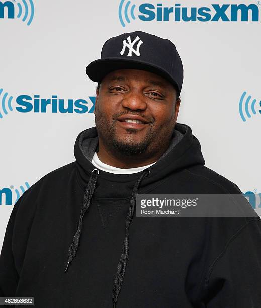Aries Spears visits at SiriusXM Studios on February 6 2015 in New York City