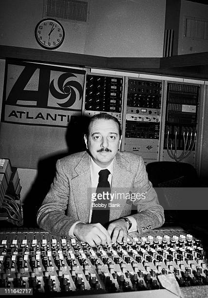 Arif Mardin during Arif Mardin Interview at Atlantic Records Studios January 19 1978 at Atlantic Records Studios in New York City New York United...