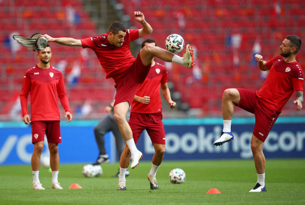 NLD: North Macedonia Training Session and Press Conference - UEFA Euro 2020: Group C