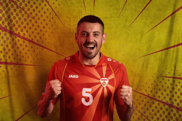 ROU: North Macedonia Portraits - UEFA Euro 2020