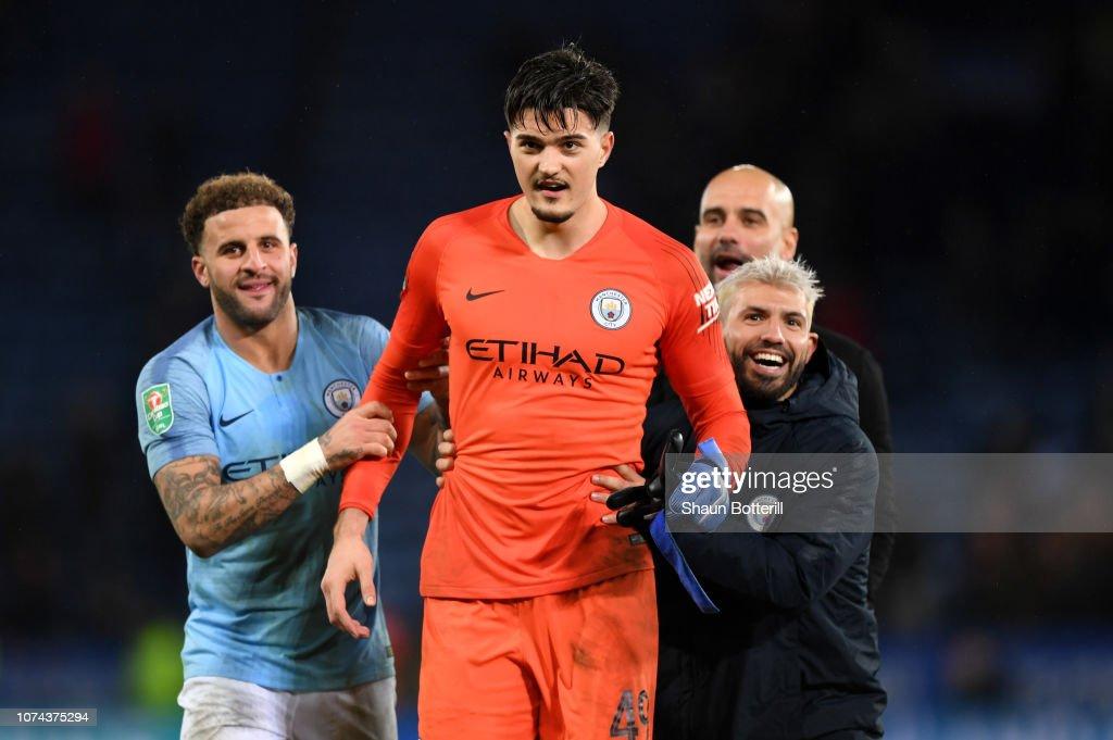 Leicester City v Manchester City - Carabao Cup: Quarter Final : News Photo