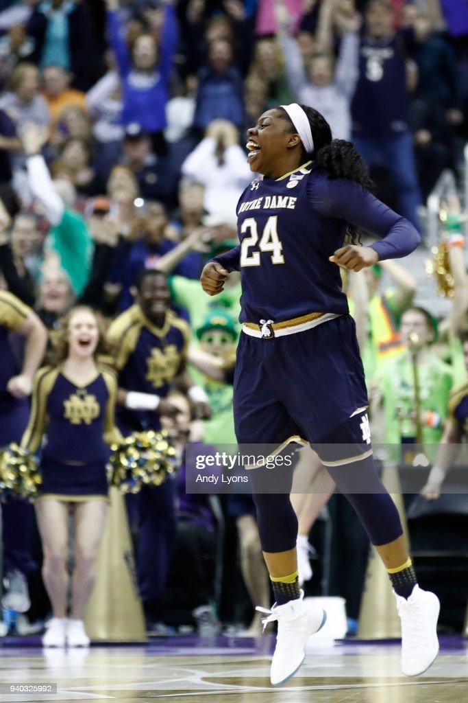 Notre Dame v Connecticut : News Photo